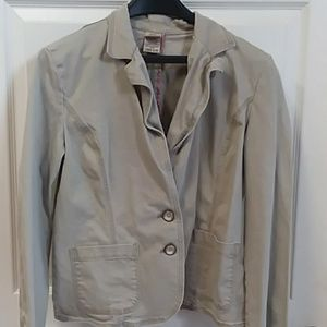 Ladies Suede Color Jacket size L